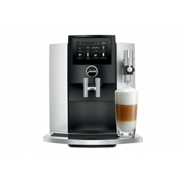 Jura S8 Automata kávéfőző 1450W 15bar Fekete-Ezüst