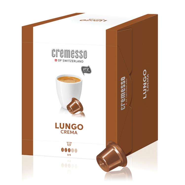 Cremesso Lungo Crema XXL box kávékapszula 48 db