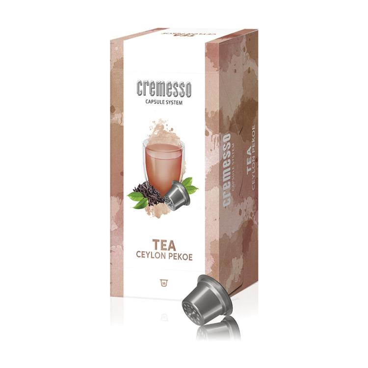 Cremesso Tea Ceylon Pekoe teakapszula 16 db - Közeli lejáratú