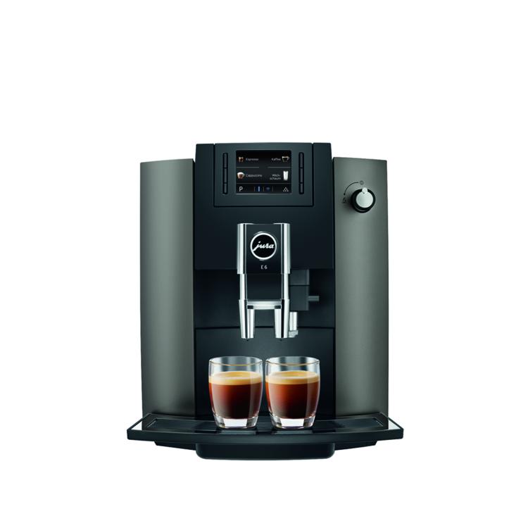 Jura E6 Automata kávéfőző (PianoBlack)