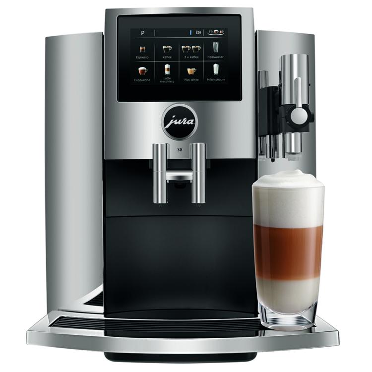 Jura S8 Chrome Automata kávéfőző