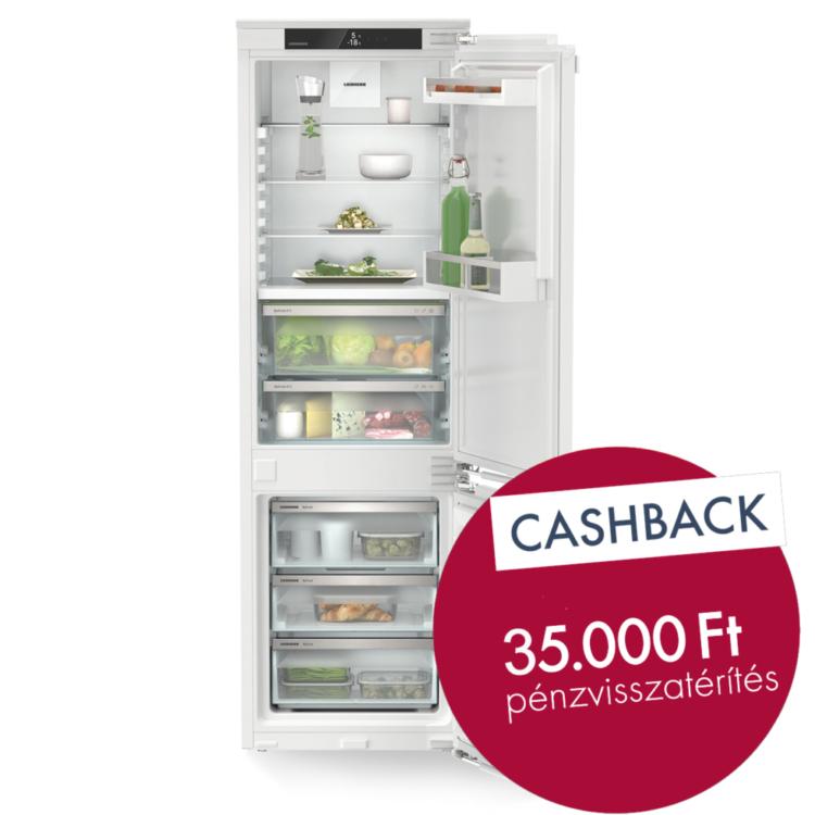 Liebherr ICBNei 5123 Integrálható kombinált hűtő-fagyasztó