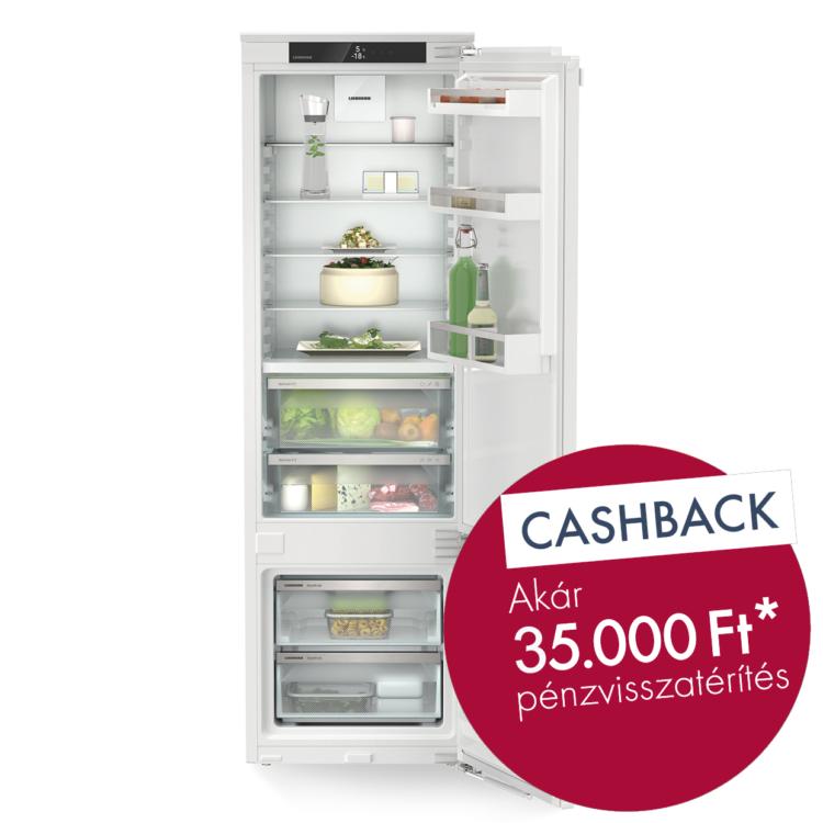 Liebherr ICBdi 5122 Plus Integrálható kombinált hűtő-fagyasztó készülék
