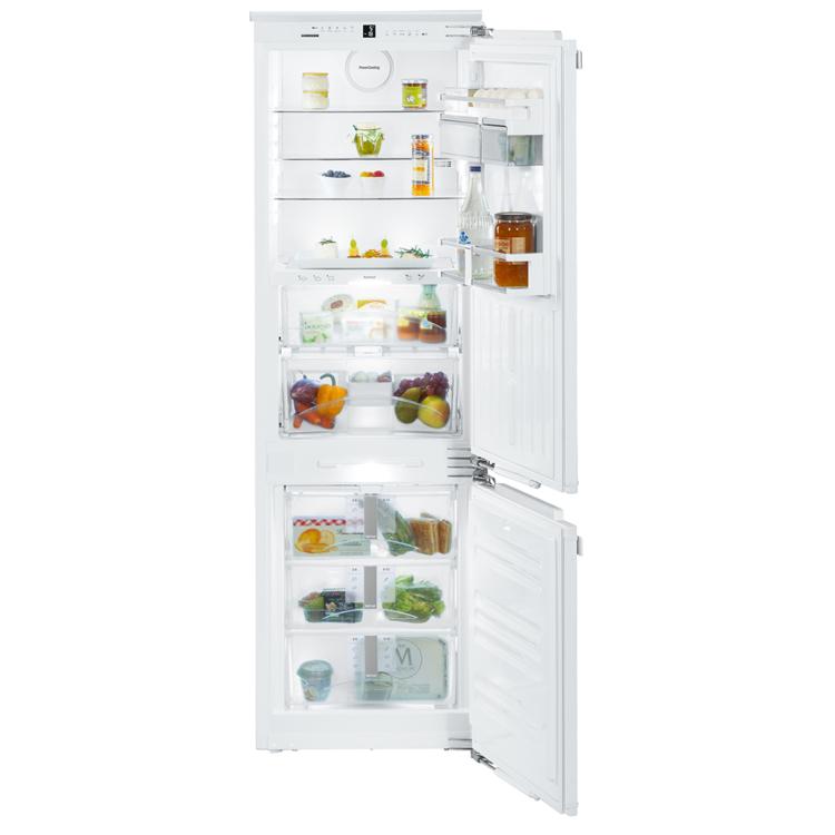 Liebherr ICBN 3376 Premium beépíthető kétajtós fehér BioFresh NoFrost kombinált hűtőszekrény A++