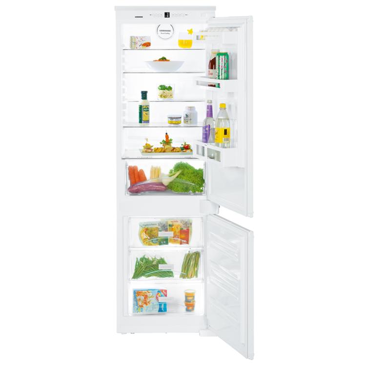 Liebherr ICS 3334 Comfort beépíthető fehér kombinált hűtőszekrény
