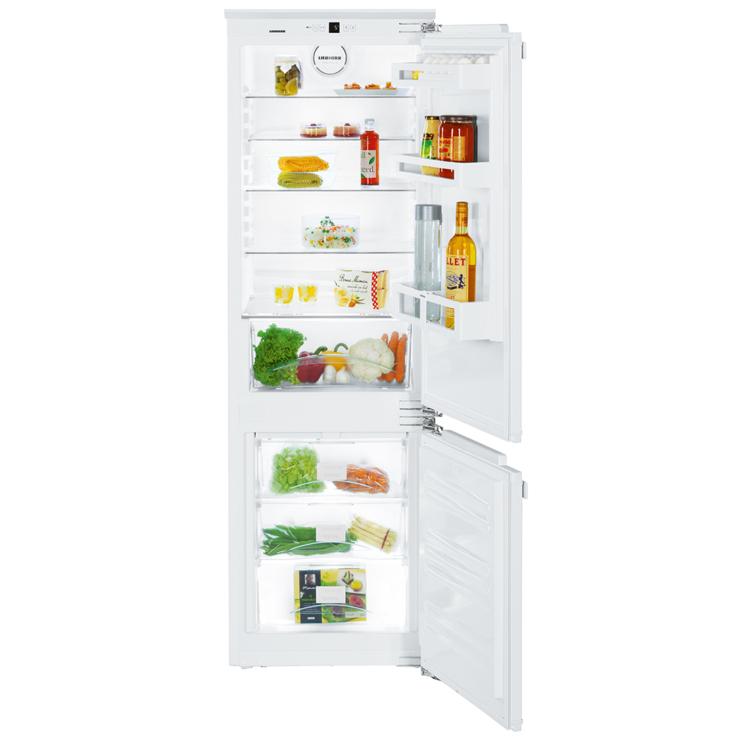 Liebherr ICUNS 3324 Comfort beépíthető fehér kombinált hűtőszekrény