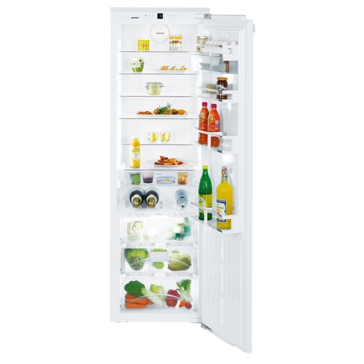 Liebherr IKBP 3560 Premium beépíthető egyajtós fehér hűtőszekrény kinyitva