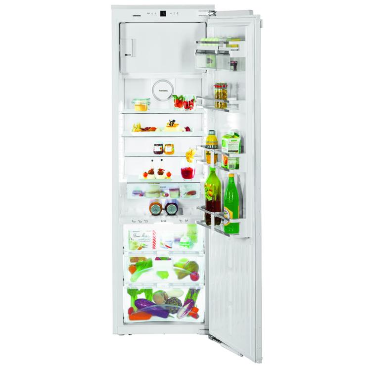 Nyitott Liebherr IKBP 3564 Premium beépíthető fehér kompakt hűtőszekrény