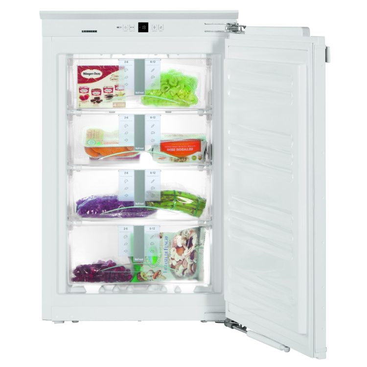 Liebherr IGN 1664 Premium beépíthető egyajtós fehér NoFrost fagyasztószekrény A++ 87,4-89/56-57/55 cm 84L