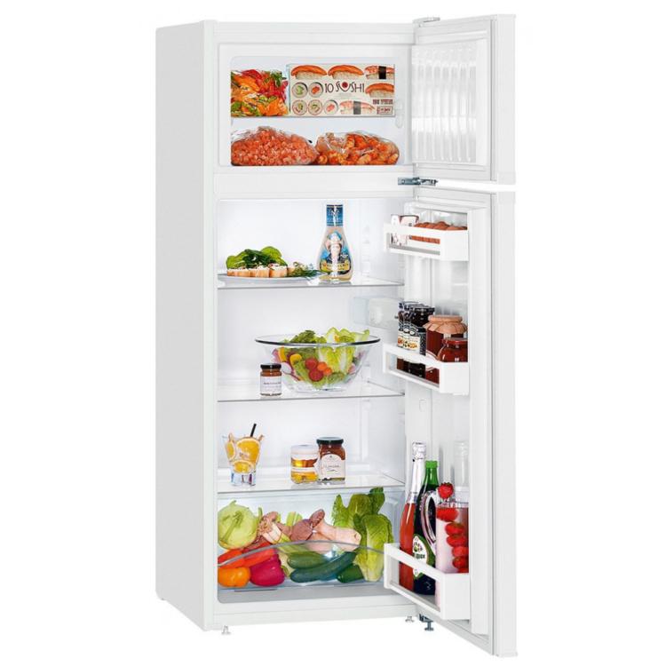Liebherr CT 2531 szabadonálló kombinált fehér hűtőszekrény