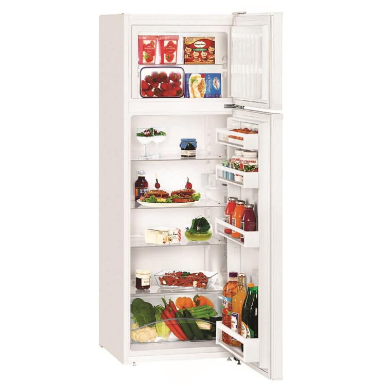 Liebherr CT 2931 szabadonálló kombinált fehér hűtőszekrény