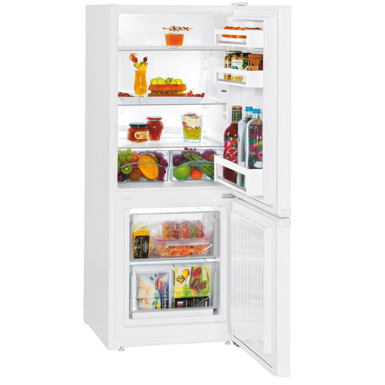 Liebherr CU 231 kombinált szabadonálló fehér hűtőszekrény