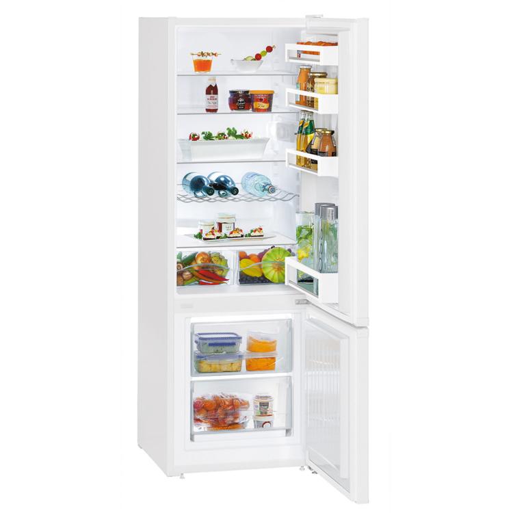 Liebherr CU 2831 kombinált szabadonálló fehér hűtőszekrény