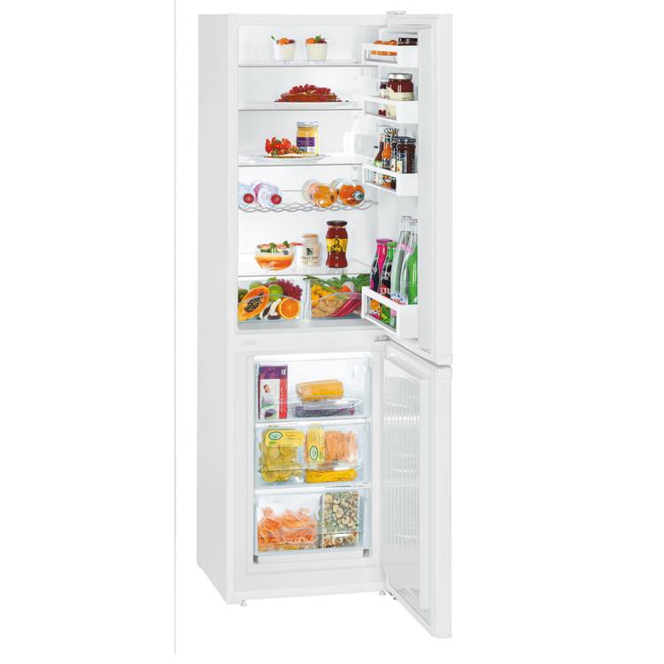 Liebherr CU 3331 kombinált szabadonálló fehér hűtőszekrény