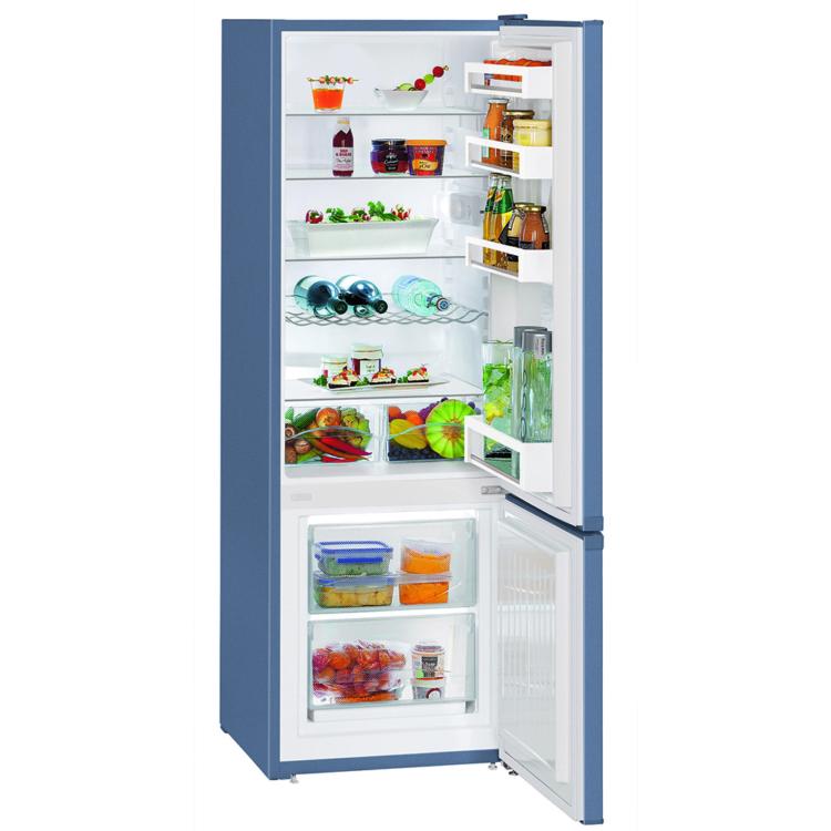 Liebherr CUfb 2831-20 Kombinált szabadonálló kék hűtőszekrény