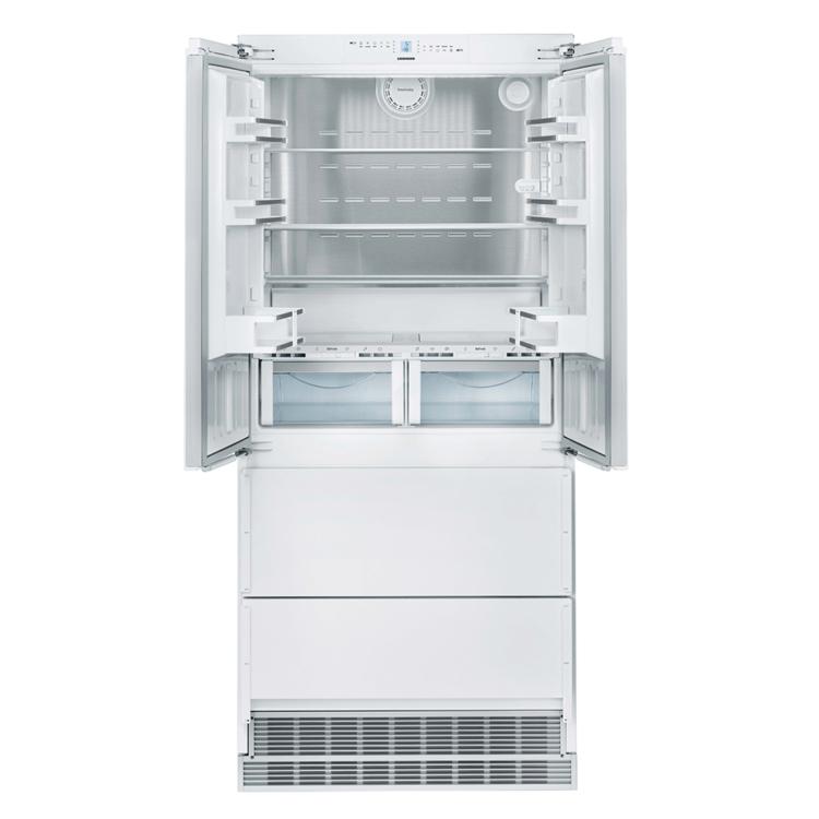 Liebherr ECBN 6256 PremiumPlus beépíthető kétajtós két fiókos fehér BioFresh NoFrost kombinált hűtőszekrény A++ 203,2/91,5/62,5 cm 289/68/114L