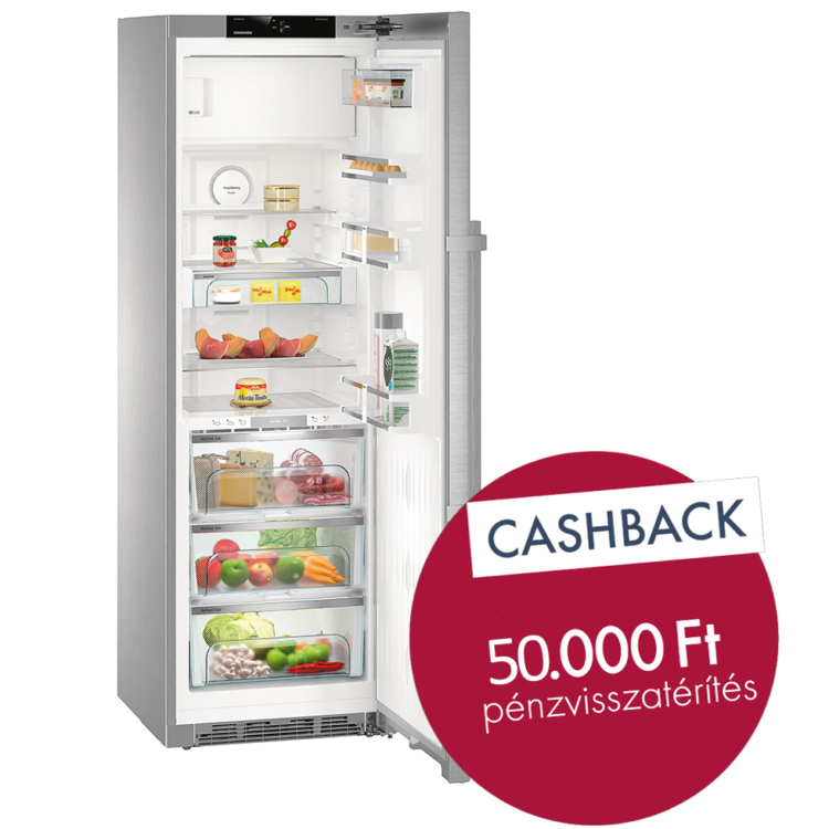 Liebherr KBes 4374 Premium BioFresh szabadonálló nemesacél hűtőszekrény
