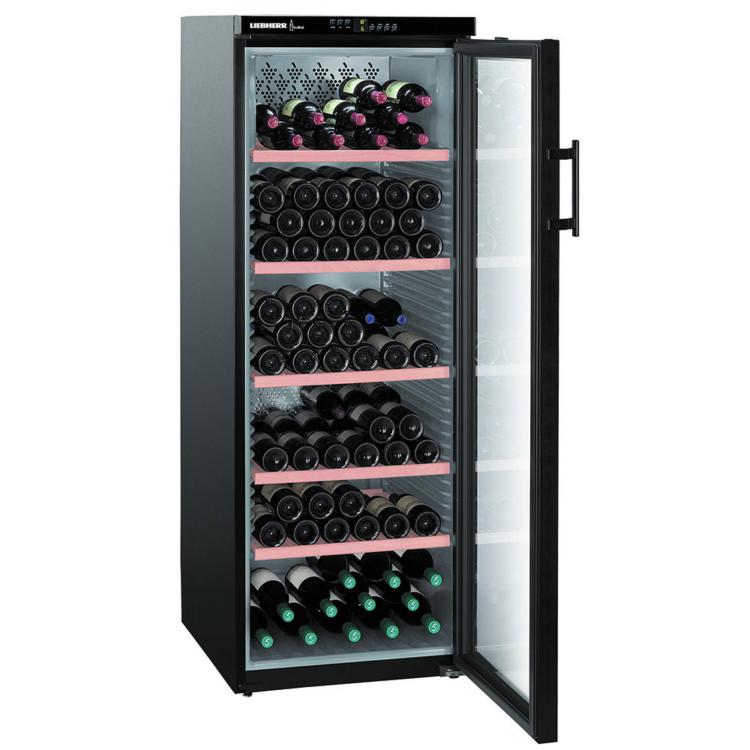 Liebherr WTb 4212 Vinothek szabadonálló fekete borhűtő