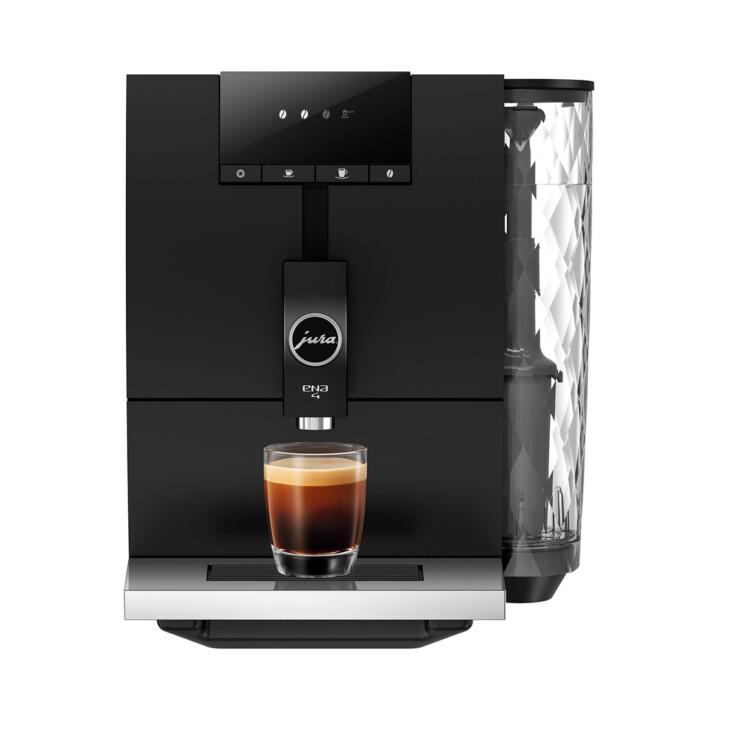 Jura ENA 4 Full Black kávéfőző szemből