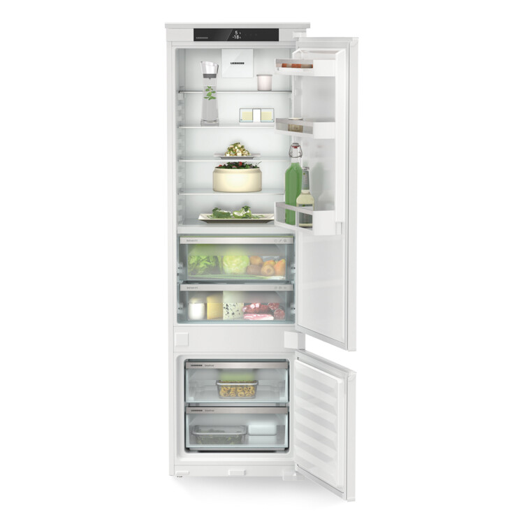 Liebherr ICBSd 5122 Integrálható kombinált hűtő-fagyasztó