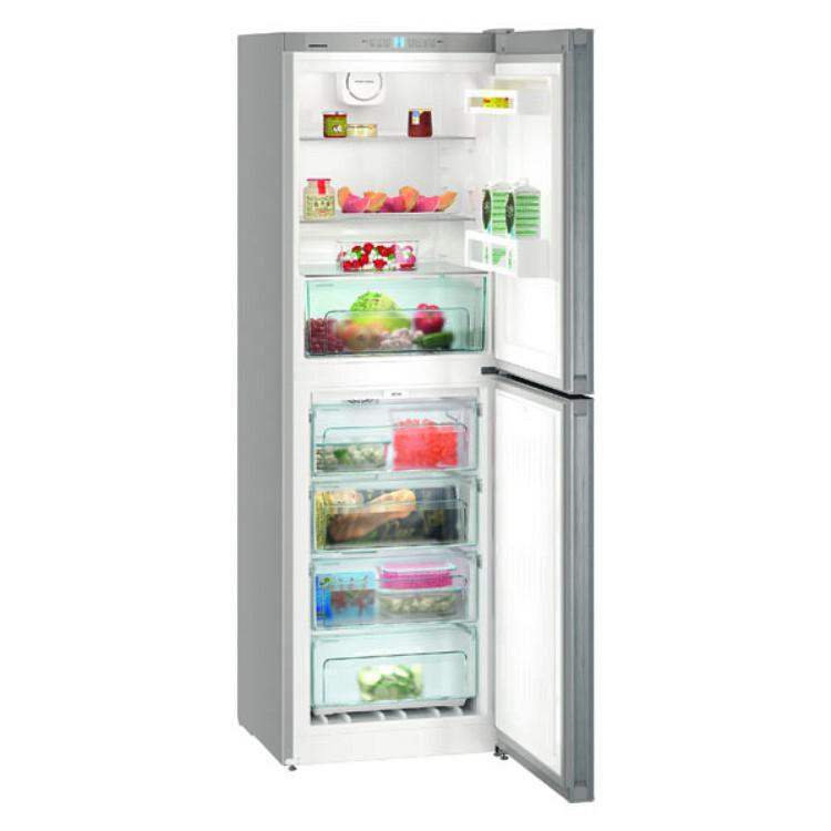 Liebherr CNel 4213-20 szabadonálló inox kombinált hűtőszekrény