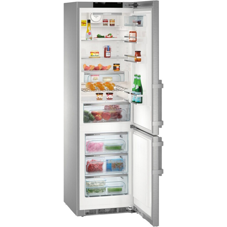Liebherr CNPes 4858-20 Premium szabadonálló inox kombinált hűtőszekrény