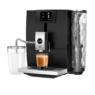 Ena 8 Touch Full Metropolitan Black kávéfőző féloldalasan