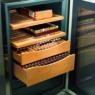 Liebherr ZKes 453 Humidor inox üvegajtós 16°C-tól +20°C-ig szivarszekrény 61,2/42,5/47,8 cm 39L