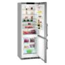 Liebherr CNef 5735 Comfort szabadonálló inox kombinált hűtőszekrény