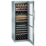 Liebherr WTes 5872 Vinidor szabadonálló inox háromzónás borhűtő
