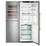Liebherr SBSes8486 PremiumPlus side by side BioFresh NoFrost hűtő és fagyasztószekrény  A+++ / A+++ 185,2 - 121 - 66,5 cm 153/126/234/132 L