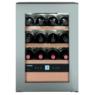 Liebherr WKes 653 Grand Cru szabadonálló egyajtós inox egyzónás borhűtő 12/A++ 61,2/42,5/47,8 cm 38L